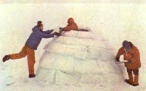 Как построить снежное убежище