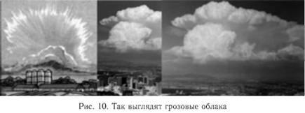 Предсказание погоды по облакам