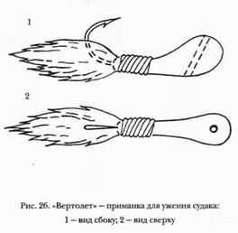 УДОЧКА С КИВКОМ И МОРМЫШКОЙ