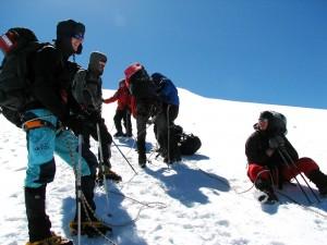 Техника передвижения по льду, снегу и фирну