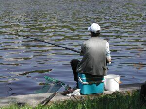 Рыбалка примитивными средствами