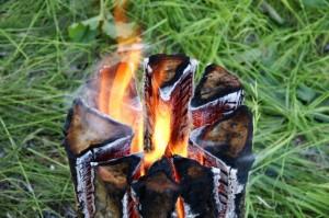 походная печка - индейская свеча