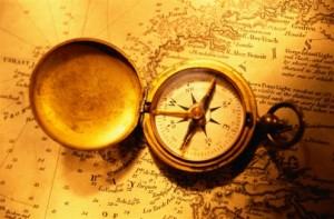 Самодельный компас.