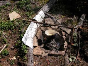 Приготовление пищи в экстремальных условиях природы