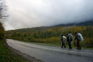 Поход с минимумом снаряжения по Северному Кавказу