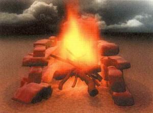 Каменный очаг