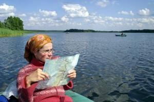 """А.Е. Берман """"Юный турист"""". Пеший поход с картой по реке. Часть 5"""