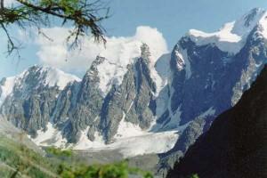 ледники в горах