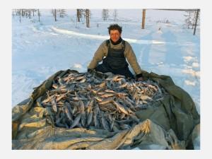 Рыбная ловля в Арктике