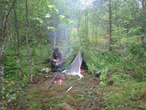 Выживание в лесу: немного практики
