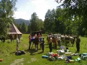 Подготовка к походу в малонаселенную местность