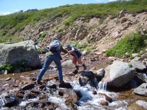 Преодоление несложных водных преград
