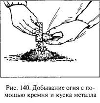 4.5. Способы добывания, сохранения огня и разведения костра