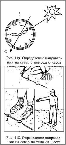4.2. Ориентирование по местным предметам