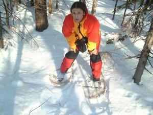 Как сделать снегоступы