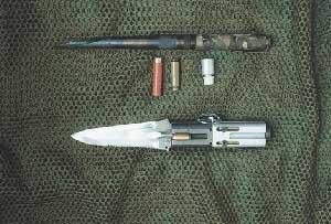 Метательные и стреляющие ножи