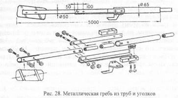 Металлическая гребь