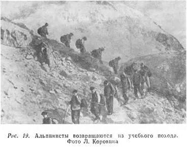 Советский альпинизм — массовый вид спорта