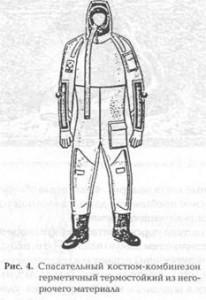 Спасательный костюм-комбинезон
