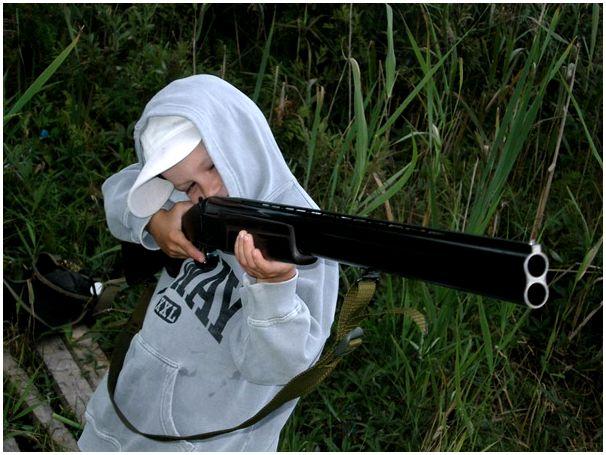 Охоту подросткам