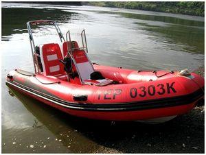 С газонокосилкой вместо мотора на лодке и на рыбалку…