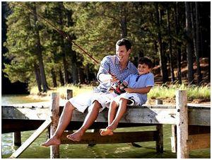 Сегодня можно удачно совмещать рыбалку и отдых с семьей