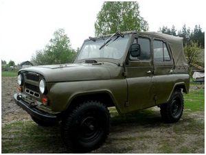 Старый добрый УАЗ