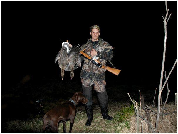 Встреча Клуба любителей охоты с духовыми манками.