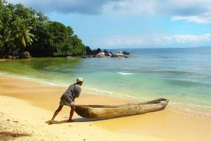 На побережье Мадагаскара