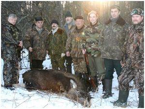 Чтобы избежать  трагедии на охоте