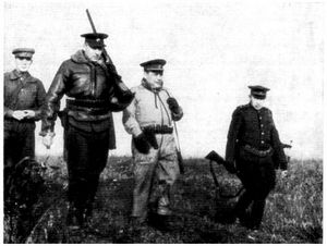 Маршал Рокоссовский на охоте