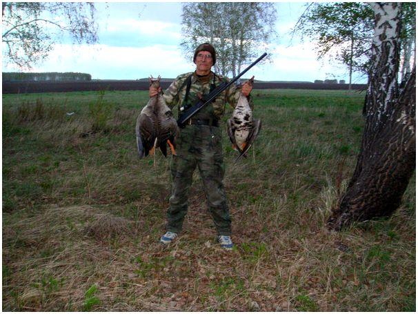 «Неправильная» стрельба гусей