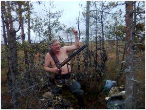Осенние гуси Ленинградской области