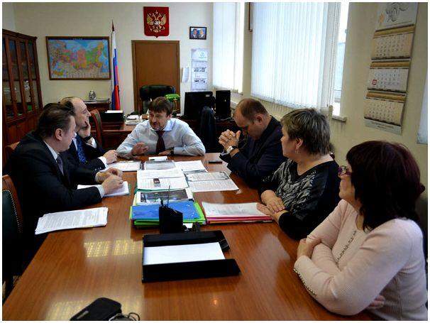 Рабочая встреча в МПР