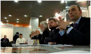 Встреча участников и учредителей РОС на Национальном форуме в ВВЦ