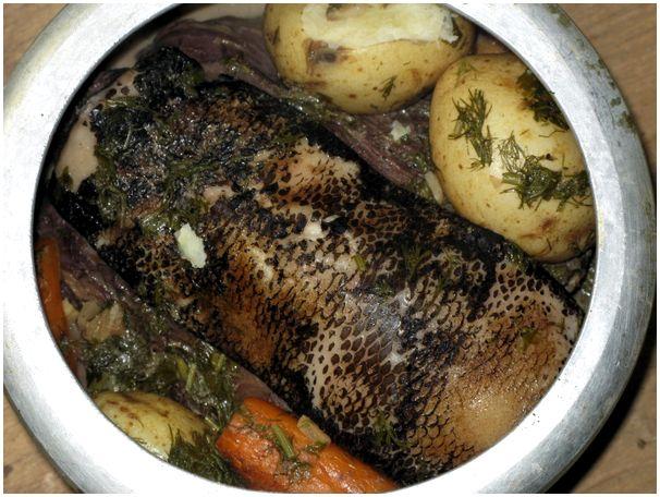 Рецепт мяса с бобра