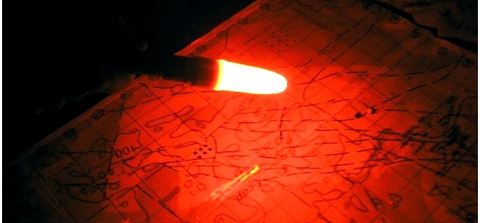 Белая и красная насадки, рассеиватели для фонарей Fenix, обзор и впечатления от использования.