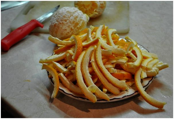 Куропатки в апельсинах