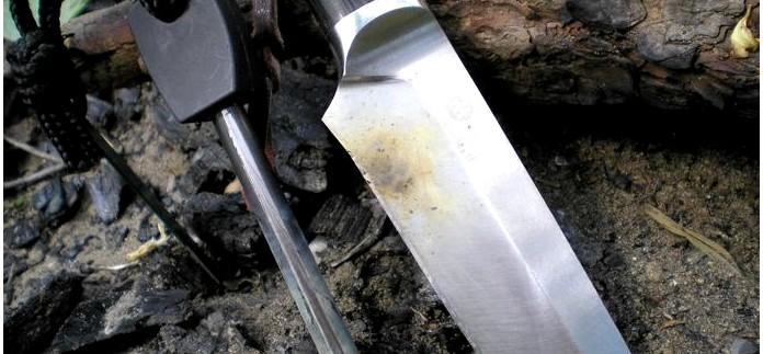 Конкурсный нож для экстремального туризма, особенности, требования, мнения, использование и тест в полевых условиях.