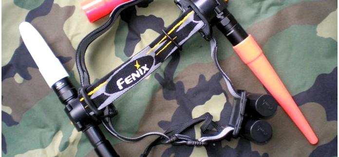 Крепление на голову Fenix Headband для фонарей Fenix и других фонариков, описание, обзор.