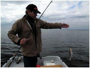 Первая рыбалка с эхолотом