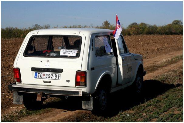 По полям Сербии, за Святым Губертом.
