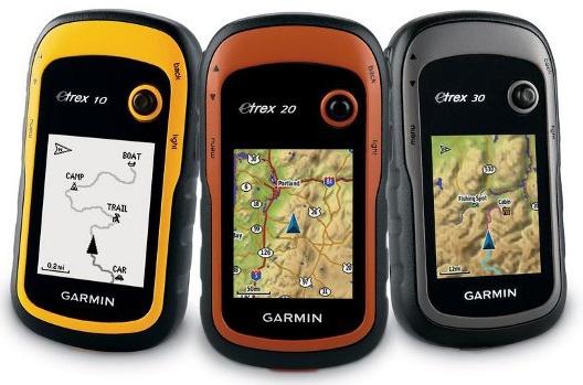 Портативные GPS-навигаторы Garmin, типовые характеристики, звуковая сигнализация, внешнее питание портативных GPS-навигаторов.
