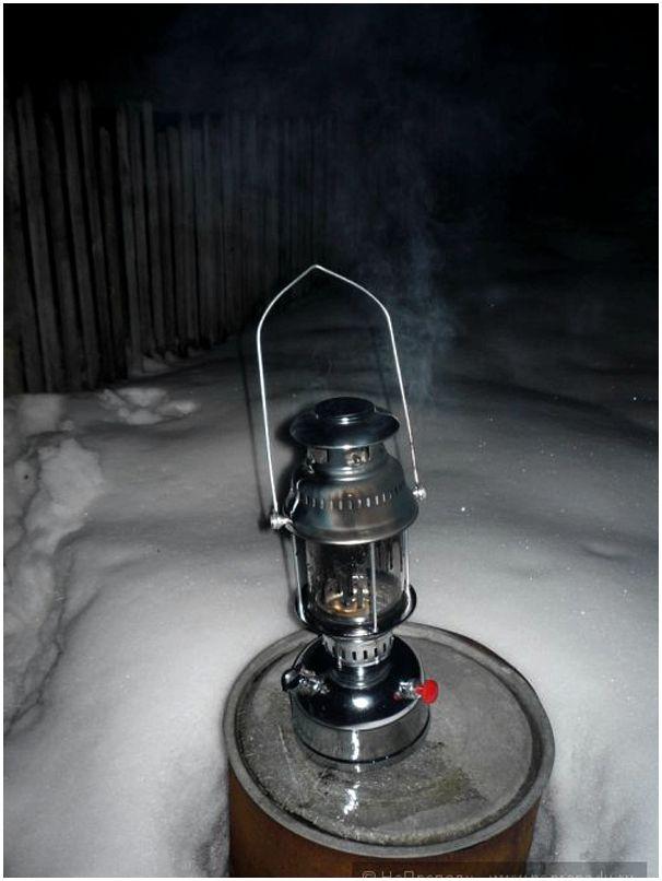 Керосиновая лампа Плавучий якорь, место ей - на свалке.