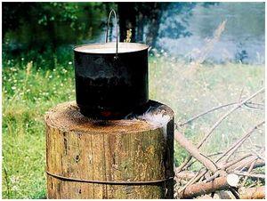Самодельная плита для жарки и варки