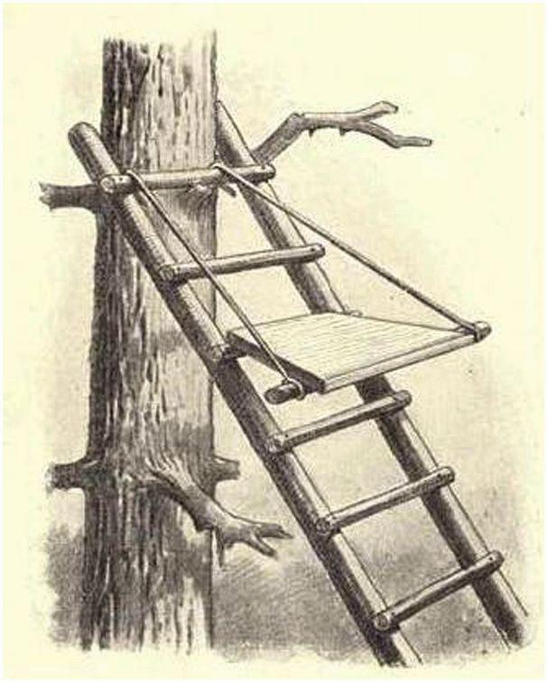 Как построить лабаз
