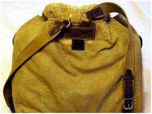 Укладка снаряжения в рюкзак