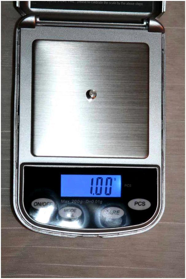 Электронные  весы  для самокрута