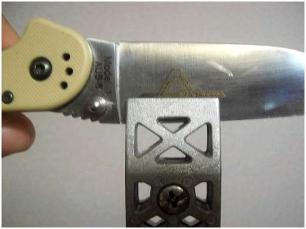 Как я затачиваю свои ножи