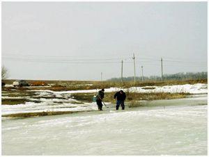 Коварство  весеннего льда